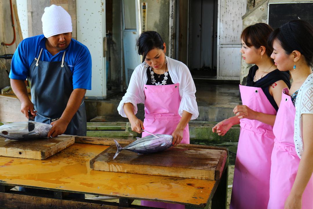なりきり漁師~魚さばき体験&ランチ