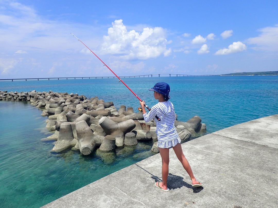 島人と港釣り/ビーチ釣り